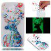 Wkae Watercolor Deer Colorful Pattern Noctilucent Soft Transparent Case for HUAWEI Y5 2017 - COLORFUL