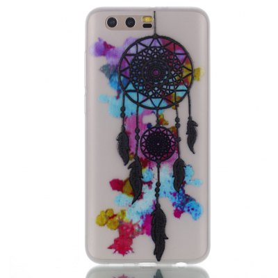 Wkae Colorful Wind Bell Pattern Noctilucent Soft Transparent Case for HUAWEI Honor 9