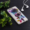 Wkae Colorful Wind Bell Pattern Noctilucent Soft Transparent Case for HUAWEI Honor 9 - COLORFUL