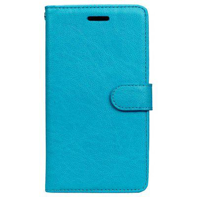 Wkae Solid Color PU Leather Flip Stand Case with Wallet and Three Card Slots for HUAWEI P9 Lite 2017