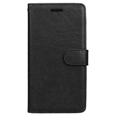 Wkae Solid Color PU Leather Flip Stand Case with Wallet and Three Card Slots for HUAWEI P10 Lite