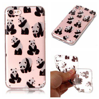 ASLING Panda Series Ultra-thin Soft TPU Back Case for iPhone 7