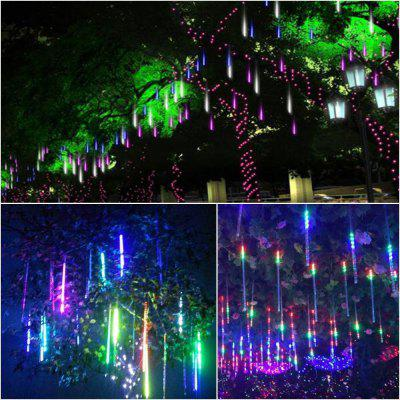 kwb smd 2835 colorful led meteor shower tube lights decoration christmas light