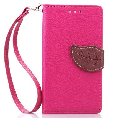 Love Leaf Card Lanyard Pu Leather pour Viko SUNSET