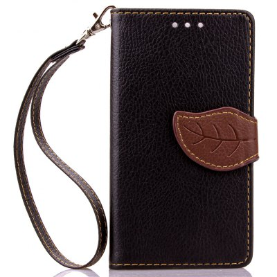 Buy BLACK Love Leaf Card Lanyard Pu Leather for Viko SUNSET for $5.93 in GearBest store
