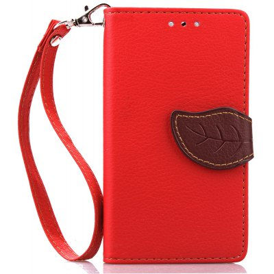 Buy RED Love Leaf Card Lanyard Pu Leather for Viko SUNSET for $5.93 in GearBest store