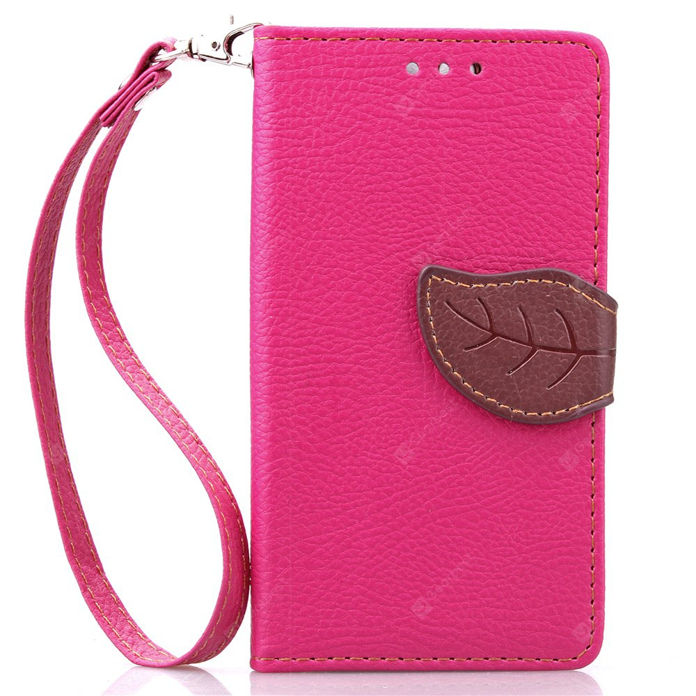 Love Leaf Card Lanyard Pu Leather para Viko SUNSET