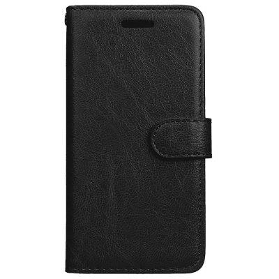Wkae Solid Color PU Leather Flip Stand Case with Wallet and Three Card Slots for Samsung Galaxy A5 2017