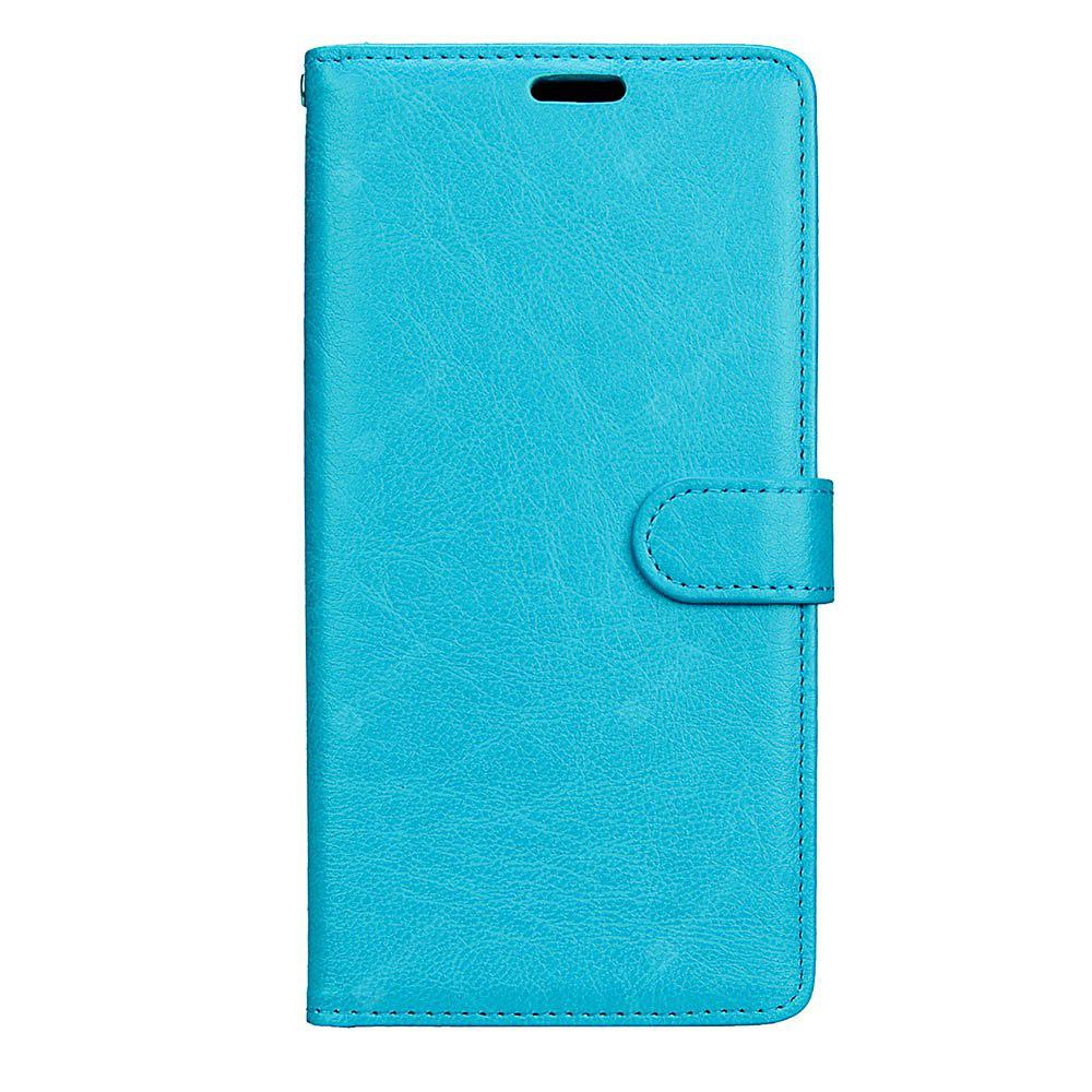 Wkae Solid Color PU Leather Flip Stand Case with Wallet and Three Card Slots for Samsung Galaxy C9 PRO