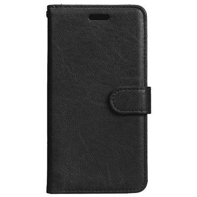 Wkae Solid Color PU Leather Flip Stand Case with Wallet and Three Card Slots for Samsung Galaxy J3 2017