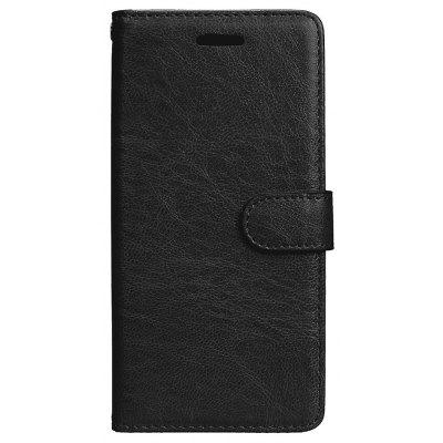 Wkae Solid Color PU Leather Flip Stand Case with Wallet and Three Card Slots for Samsung Galaxy S8