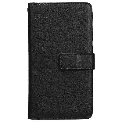 Wkae Solid Color PU Leather Flip Stand Case with Wallet and Nine Card Slots for HUAWEI P10 Lite