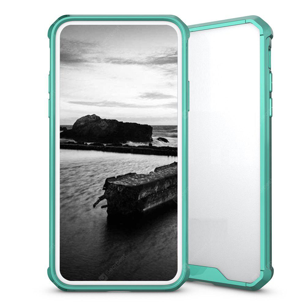 Rüstung Transparent Clear TPU Shockproof Case für iPhone X Scratch Resistant Fit Thin Slim PC Hard Panel