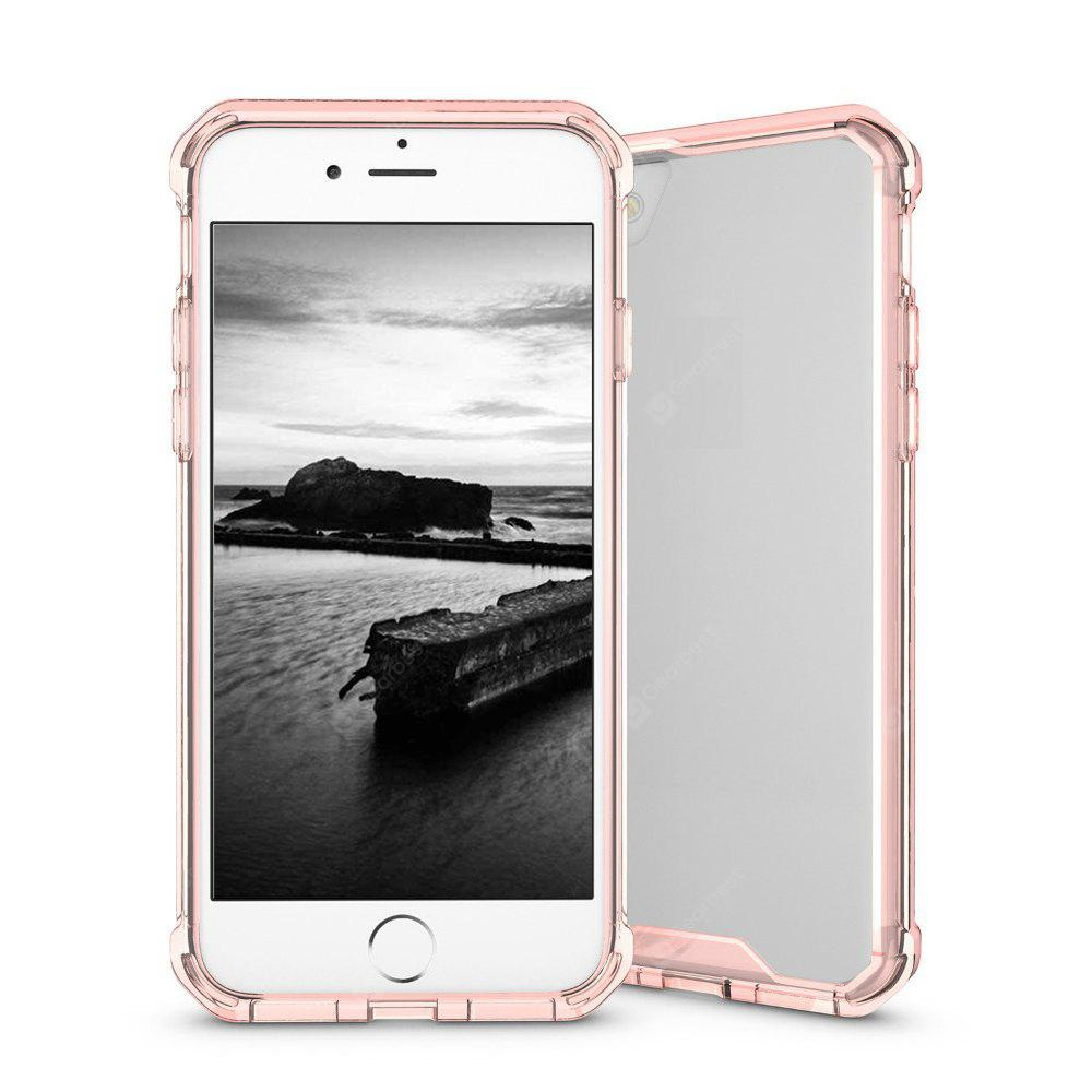 Armor Transparent Clear TPU Frame Shockproof Protective Case Scratch Resistant Fit Thin Slim PC Hard Panel for iPhone 7