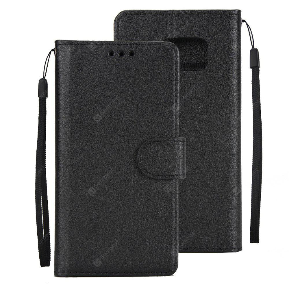 Leather Flip Folio Book Case Wallet Cover with Kickstand Feature Card Slots ID Holder Magnetic Closure for samsung S7