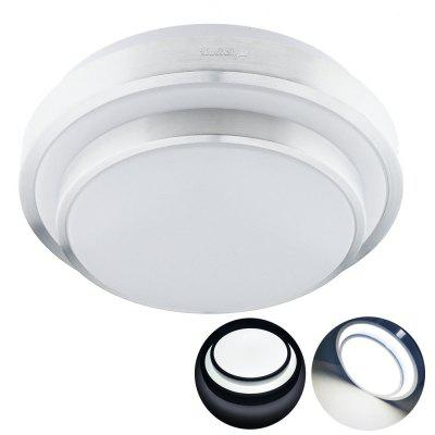 YouOKLight 1pc 18W 85 - 265V 35CM LED moderno soffitto di luce bianca fredda