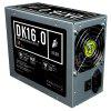 1STPLAYER DK 16.0 1600W Power Supply Supports Mining System Antminer L3 + D3 S9 with 2x 80mm Double Ball Bearing Fan (MINING VERSION) - SILVER