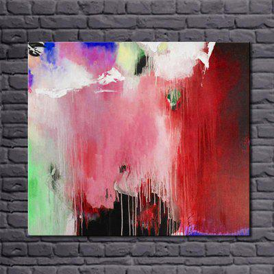 Buy COLORMIX Macroart Hand Painted Abstract Still Life Colorful Color Simple Abstract Canvas Art Oil Painting Wall Picture for $60.50 in GearBest store