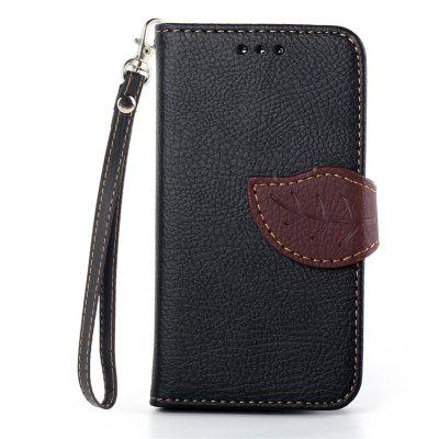 Love Leaf Card Lanyard Pu Leather pour Samsung S3 Mini