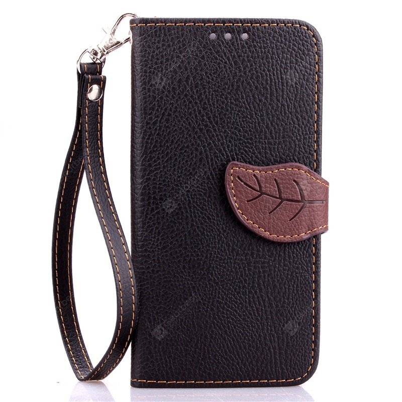 Love Leaf Card Lanyard Pu Leather for Samsung S6 edge Plus