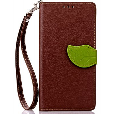 Love Leaf Card Lanyard Pu Leather for Samsung S7