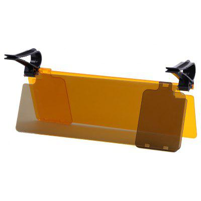Anti Glare Sun Visor Extensión Shield Car Auto Flip para los conductores