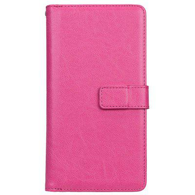 Wkae Solid Color PU Leather Flip Stand Case with Wallet and Nine Card Slots for Samsung C9 PRO