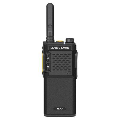 V77 Mini Walkie Talkie 1500mAh UHF 400-470MHz Two Way Radio Portable Handheld Transceiver