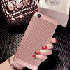 Fashion Ultra-Thin Breathable Cooling Mesh Hard Phone Cover for XiaoMi 5S - RED