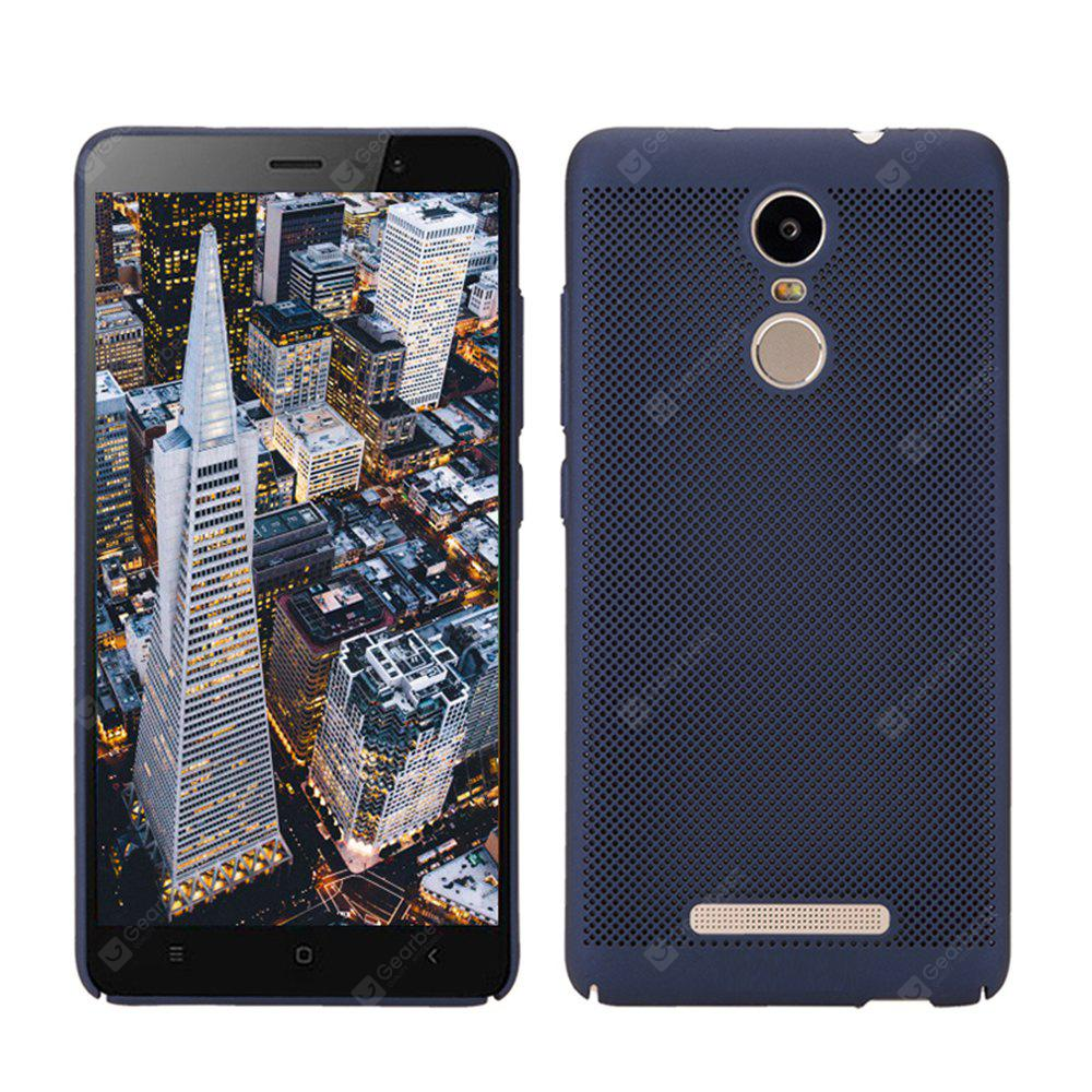 Fashion Ultra-Thin Breathable Cooling Mesh Hard Phone Cover for RedMi Note3