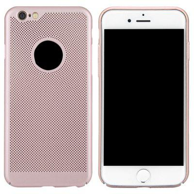 Mode Ultra-Thin Breathable Kühlen Mesh Hard Phone Cover für iPhone 6 / 6S