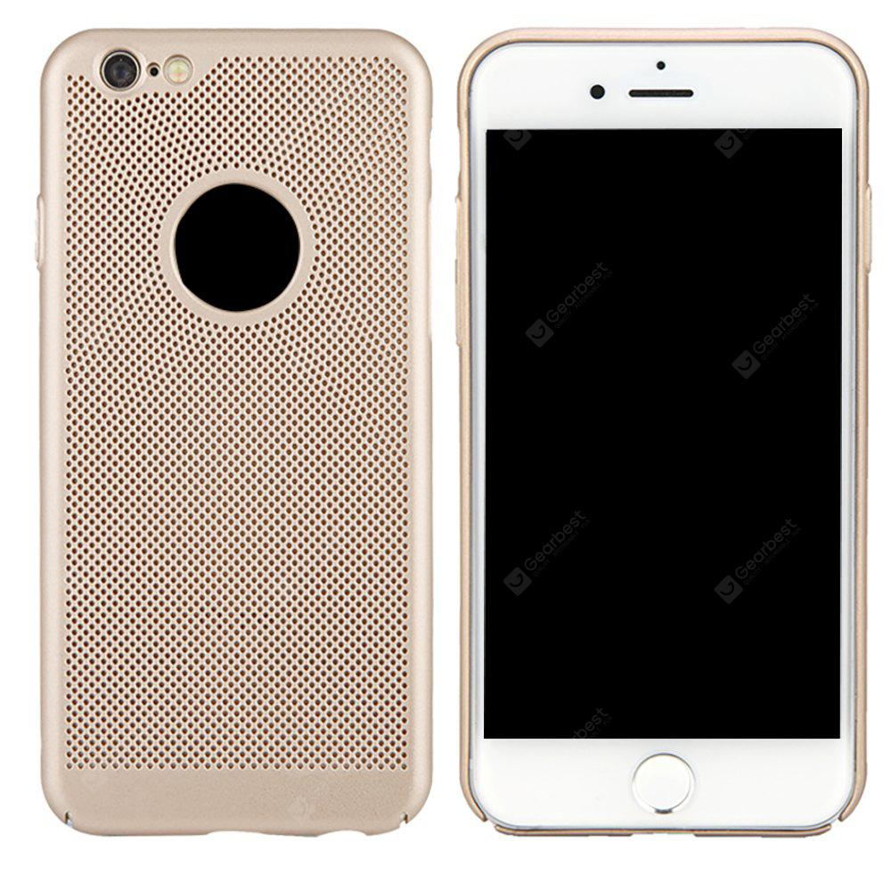 Moda Ultra-Thin Respirável Cooling Mesh Hard Phone Cover para iPhone 6 / 6S