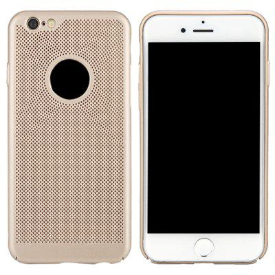 Moda Ultra-Thin Respirável Cooling Mesh Hard Phone Cover para iPhone 6Plus / 6S Plus