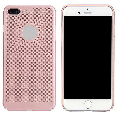 Fashion Ultra-Thin Breathable Cooling Mesh Hard Phone Cover for iPhone 7 Plus