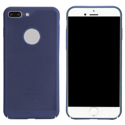 Mode Ultra-Thin Breathable Kühlen Mesh Hard Phone Cover für iPhone 7 Plus