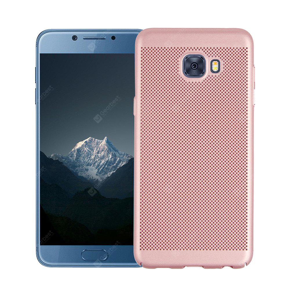 Mode Ultra-Thin Breathable Kühlung Mesh Hard Phone Cover für Samsung C7 PRO
