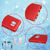 Fashion Ultra-Thin Breathable Cooling Mesh Hard Phone Cover for Samsung Note 5 - RED