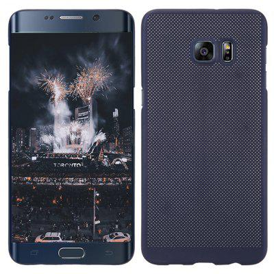 Fashion ultradunne ademend Cooling Mesh Hard Phone Cover voor Samsung S6 Edge Plus