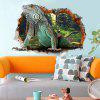 Home Decoration 3D Lizard Removable Wall Stickers for Wall Decor - COLORMIX