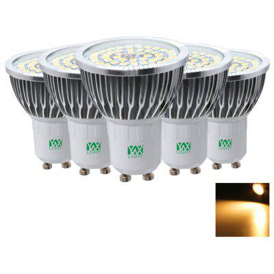 5PCS YWXLight GU10 2835SMD 7W LED Lamp Lampada Spotlight Bulbs Lighting AC 85 - 265V