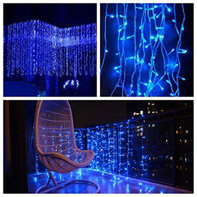 Buy BLUE KWB LED Window Curtain Icicle Lights 300 LED String Fairy Lights 118.11x118.11 Inch 8 Modes White Christmas / Thanksgiving / Wedding / Party Backdrops for $18.99 in GearBest store