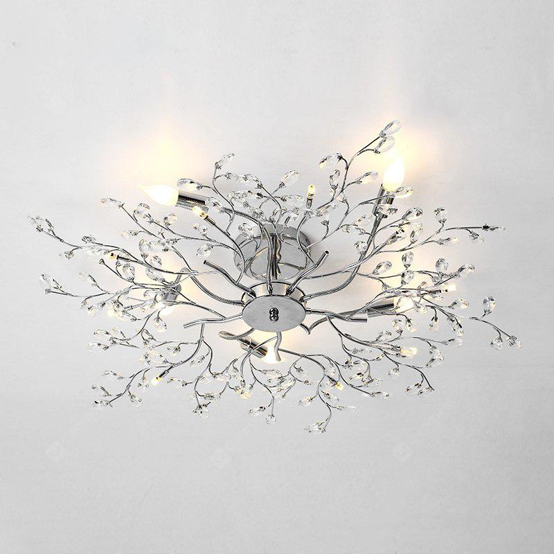 ZUOGE Post modern creative iron crystal ceiling lamp -110V-220V~