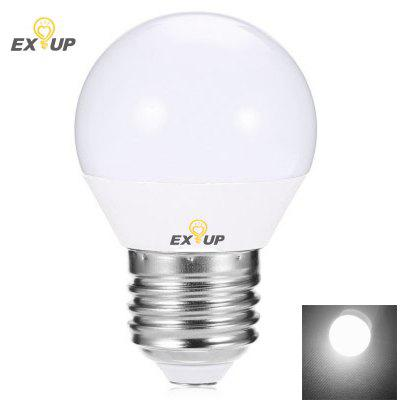 Buy WHITE LIGHT EXUP 7W E27 LED Globe Bulbs G45 SMD 2835 650LM Warm White / Cool White AC 220V 240V for $2.83 in GearBest store