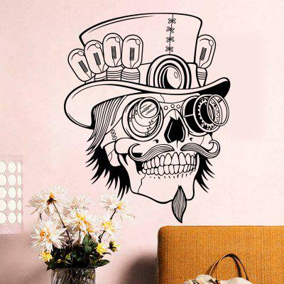 Pirate Skull Head with Hat