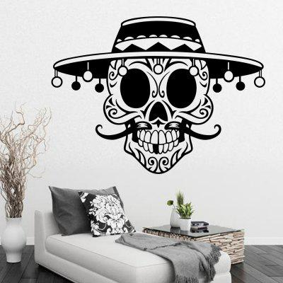 Pirate Skull with Long Beard Round Hat bmbe табурет pirate