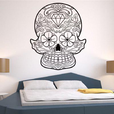 Saingace Halloween Skeleton Background Decorated Wall StickersWall Stickers<br>Saingace Halloween Skeleton Background Decorated Wall Stickers<br><br>Art Style: Plane Wall Stickers<br>Artists: Others<br>Brand: DSU<br>Color Scheme: Black<br>Effect Size (L x W): 57 x 70cm<br>Function: Decorative Wall Sticker<br>Layout Size (L x W): 57 x 70cm<br>Material: Self-adhesive Plastic<br>Package Contents: 1 x Wall Sticker<br>Package size (L x W x H): 60.00 x 5.00 x 5.00 cm / 23.62 x 1.97 x 1.97 inches<br>Package weight: 0.1900 kg<br>Product size (L x W x H): 58.00 x 70.00 x 0.01 cm / 22.83 x 27.56 x 0 inches<br>Product weight: 0.1400 kg<br>Quantity: 1<br>Subjects: Vintage<br>Suitable Space: Living Room,Bedroom,Dining Room,Cafes,Entry,Kitchen,Pathway,Game Room<br>Type: Plane Wall Sticker