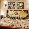 Buy HAPPYART Canvas Print Painting Modern Colorful Leaves Home Decoration / Wall Art COLORMIX