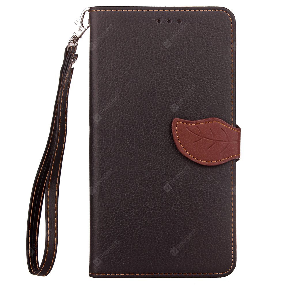 Love Leaf Card Lanyard Pu Leather pour Xiaomi Max2