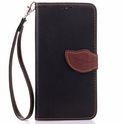 Love Leaf Card Lanyard Pu Leather pour Xiaomi NOTE