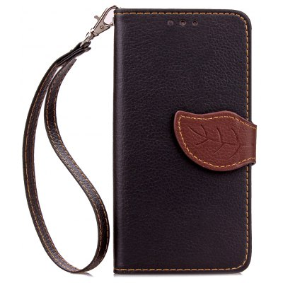 Love Leaf Card Lanyard Pu Leather for Redmi 2 2A